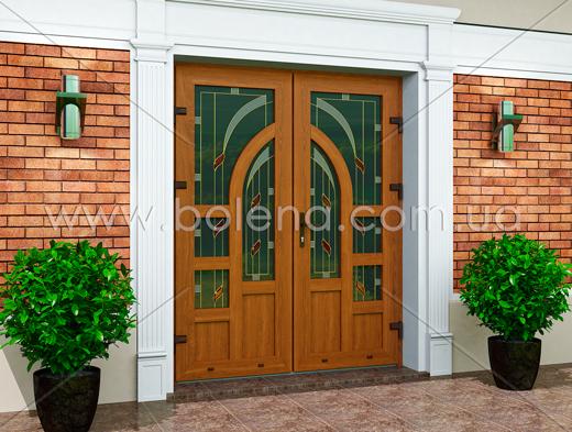 металопластикові двері рехау46